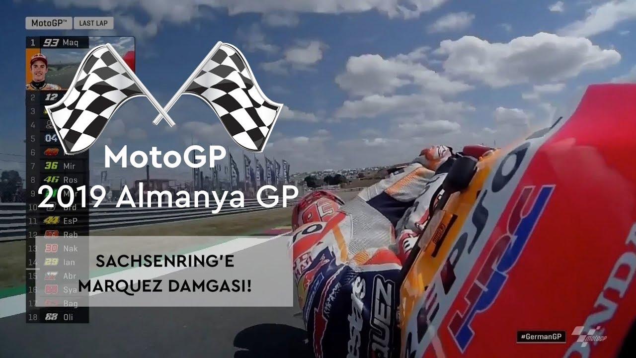 Sachsenring'e Marquez Damgası! (MotoGP 2019 - Almanya Grand Prix)