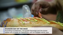 Ecuadorians create beverage for Day of the Dead