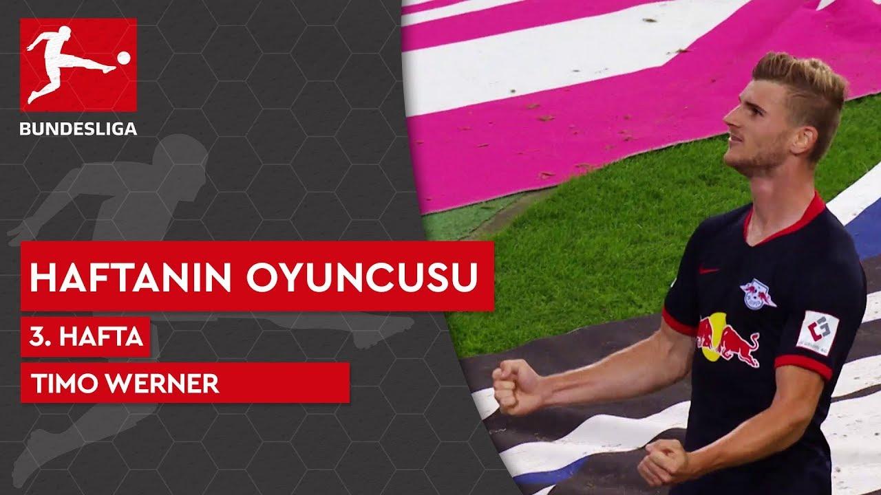 Bundesliga'da 3. Haftanın Oyuncusu | Timo Werner (2019/20)