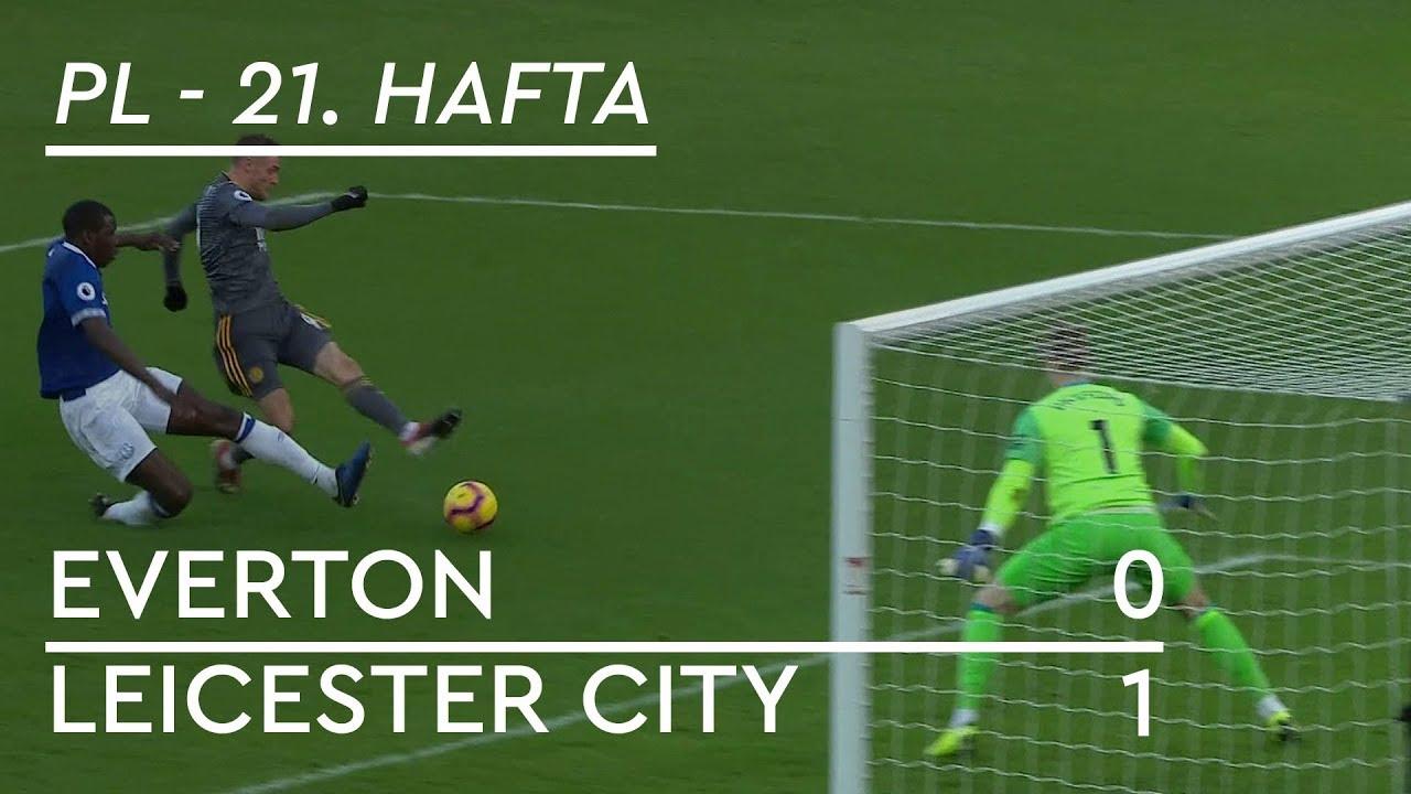 Everton - Leicester City (0-1) - Maç Özeti - Premier League 2018/19