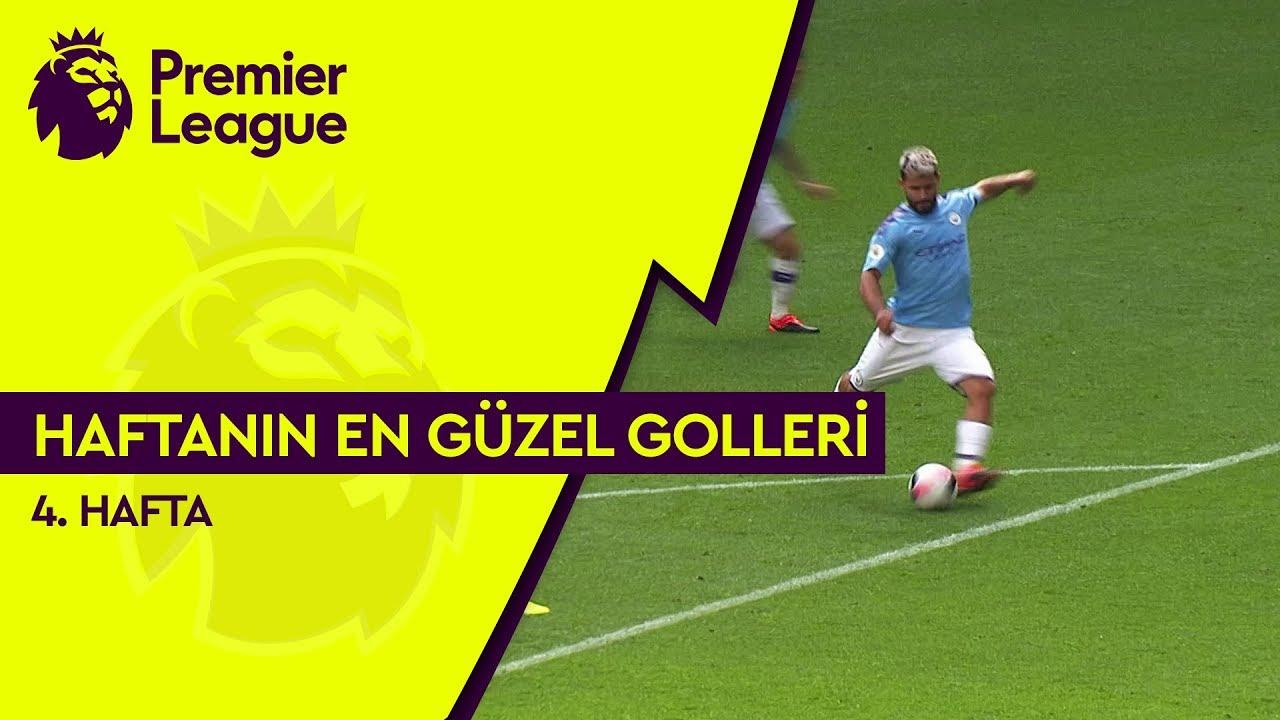 Premier League'de 4. Haftanın En Güzel Golleri (2019/20)