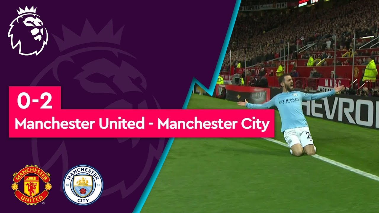 Manchester United - Manchester City (0-2) - Maç Özeti - Premier League 2018/19
