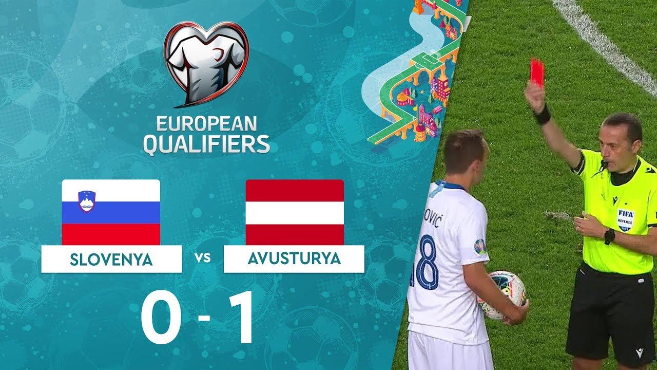 Slovenya 0-1 Avusturya | EURO 2020 Elemeleri Maç Özeti - G Grubu