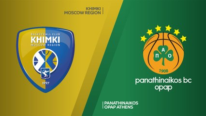 EuroLeague 2019-20 Highlights Regular Season Round 5 video: Khimki 103-86 Panathinaikos