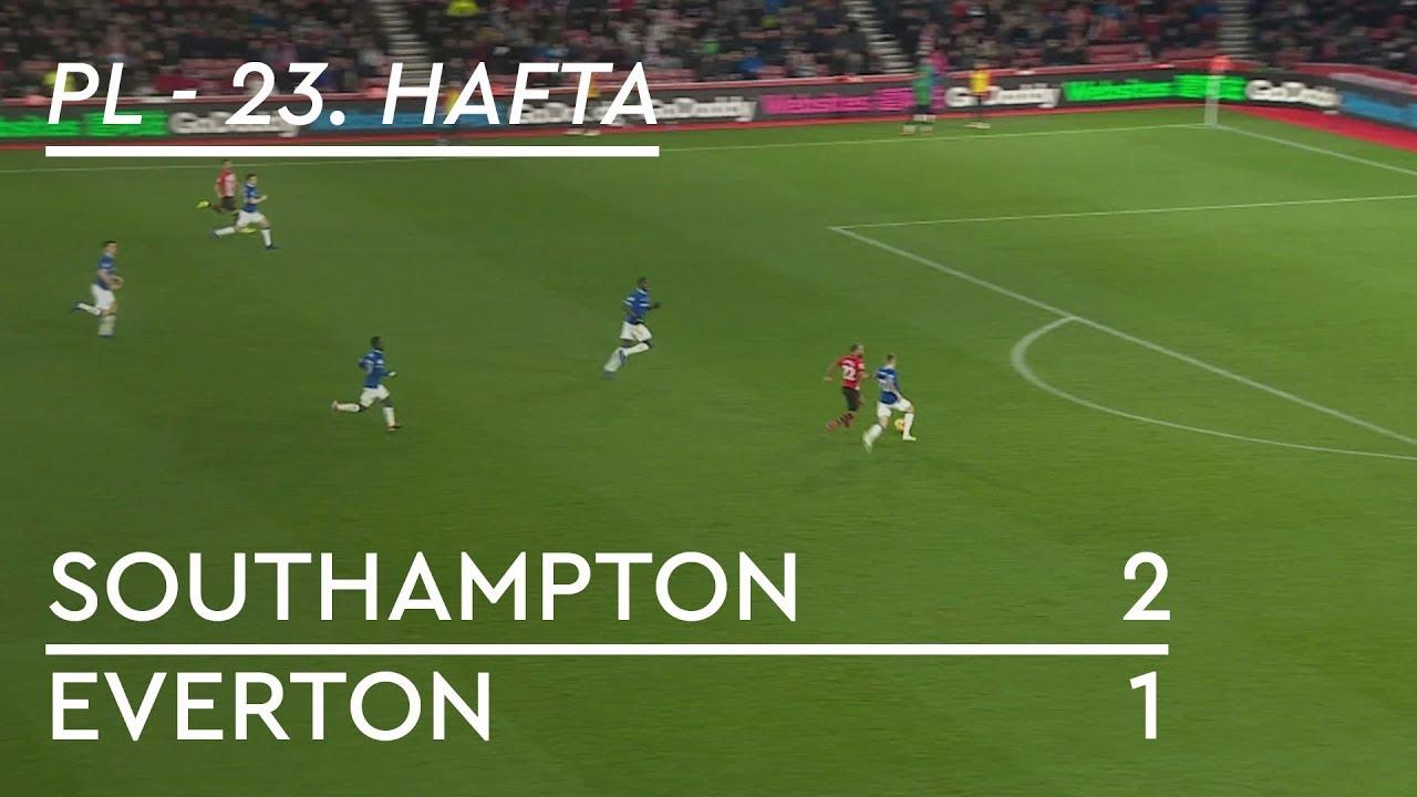 Southampton - Everton (2-1) - Maç Özeti - Premier League 2018/19
