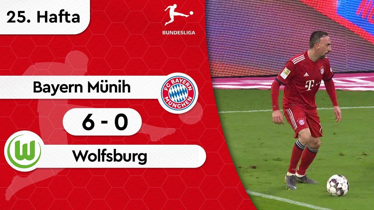Bayern Münih - Wolfsburg (6-0) - Maç Özeti - Bundesliga 2018/19