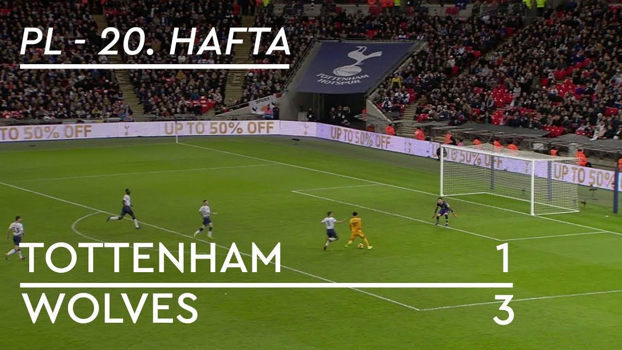 Tottenham - Wolves (1-3) - Maç Özeti - Premier League 2018/19