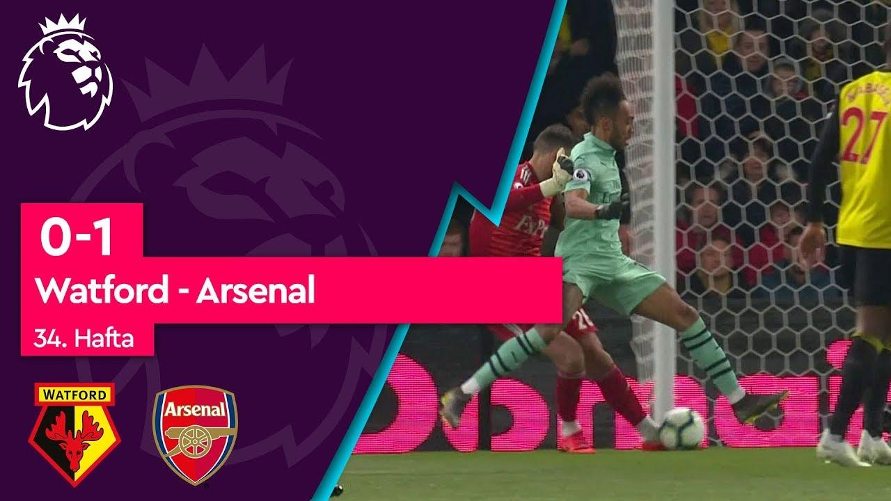Watford - Arsenal (0-1) - Maç Özeti - Premier League 2018/19