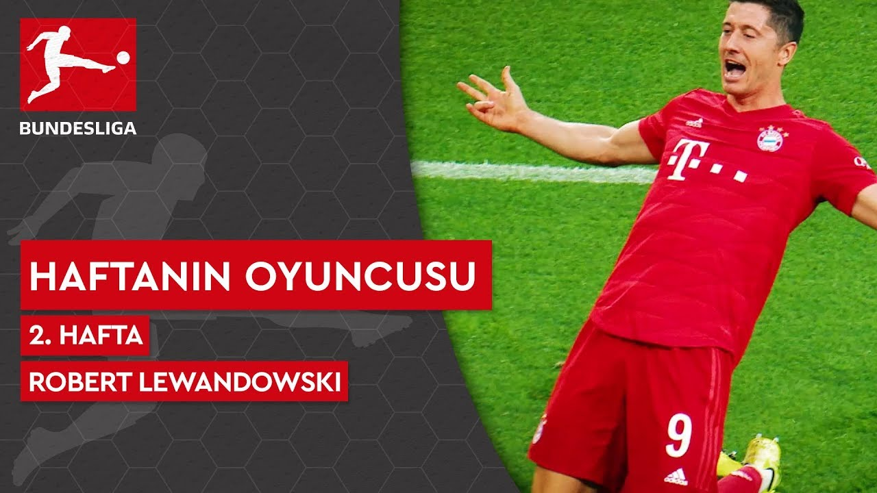 Bundesliga'da 2. Haftanın Oyuncusu | Robert Lewandowski (2019/20)