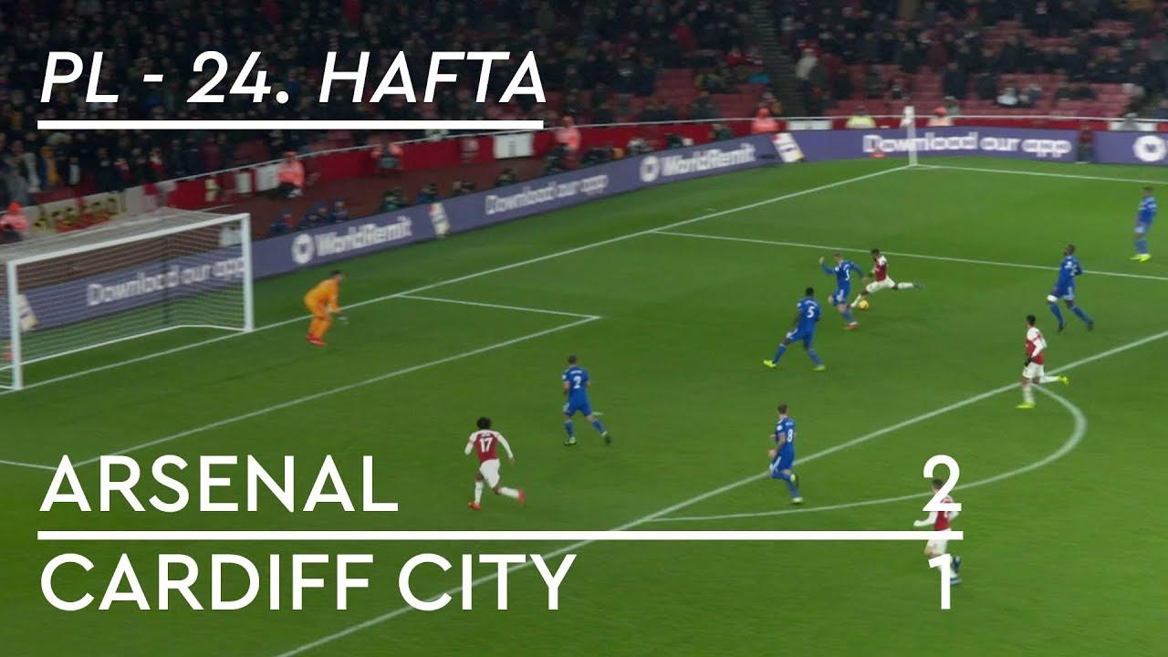 Arsenal - Cardiff City (2-1) - Maç Özeti - Premier League 2018/19