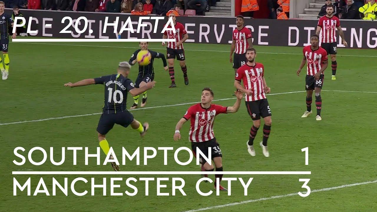 Southampton - Manchester City (1-3) - Maç Özeti - Premier League 2018/19