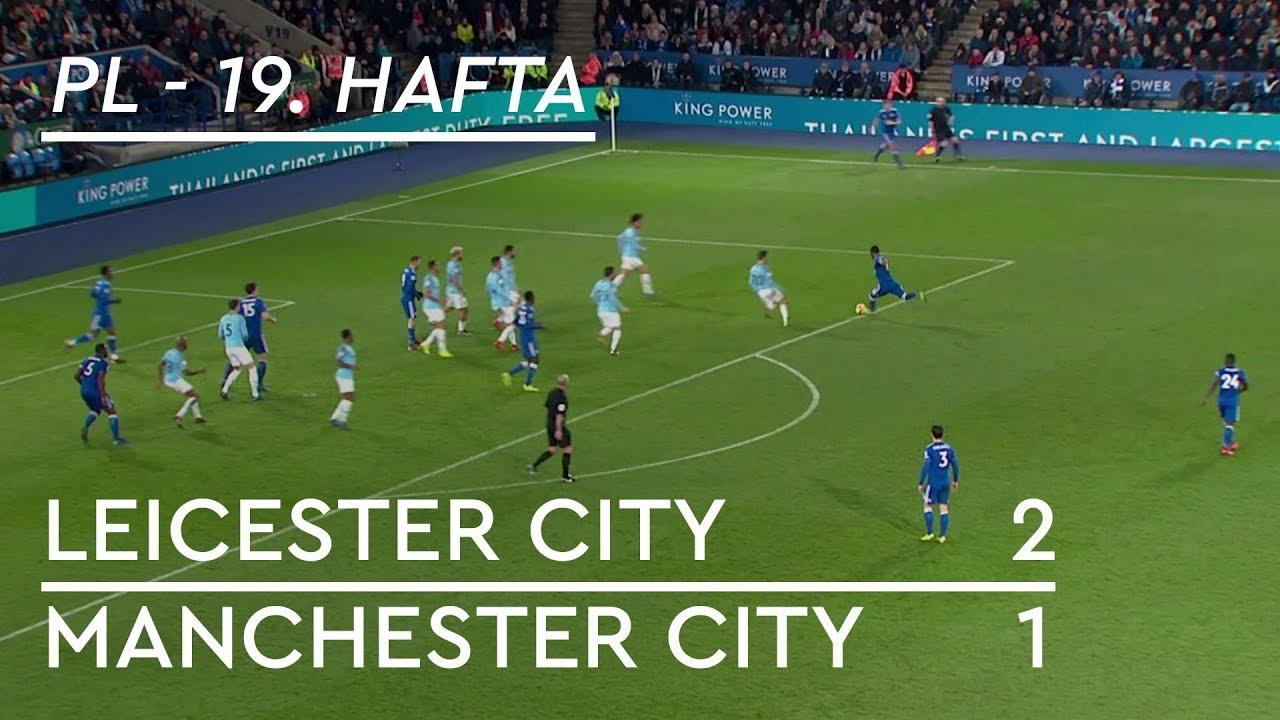 Leicester City - Manchester City (2-1) - Maç Özeti - Premier League 2018/19