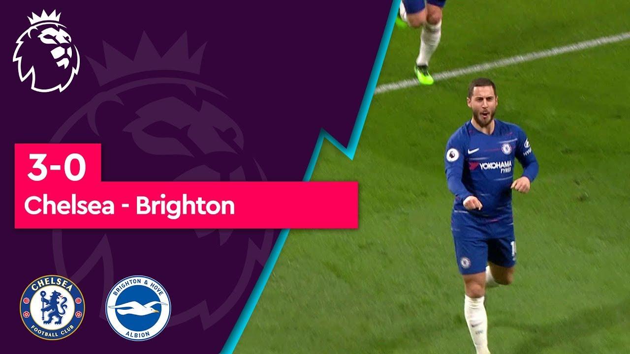 Chelsea - Brighton (3-0) - Maç Özeti - Premier League 2018/19