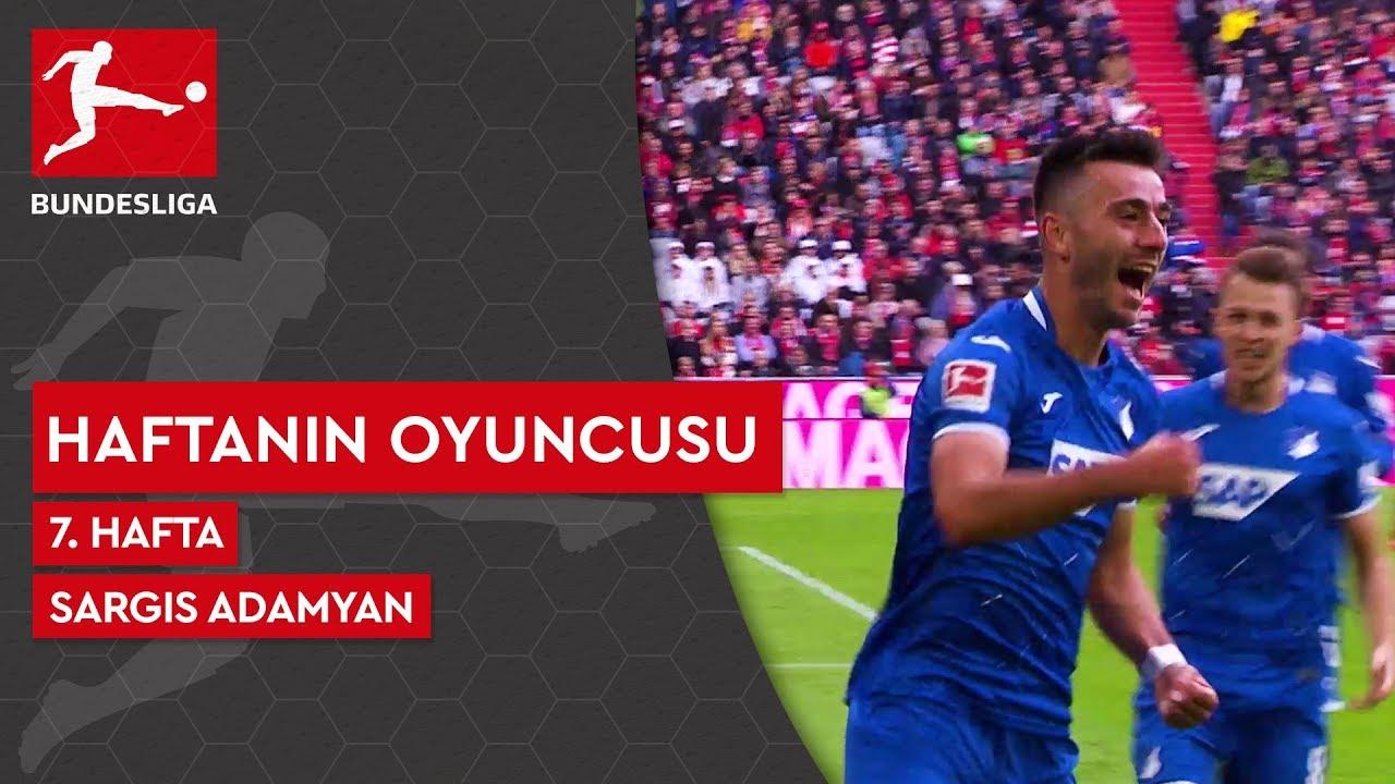 Bundesliga'da 7. Haftanın Oyuncusu | Sargis Adamyan (2019/20)