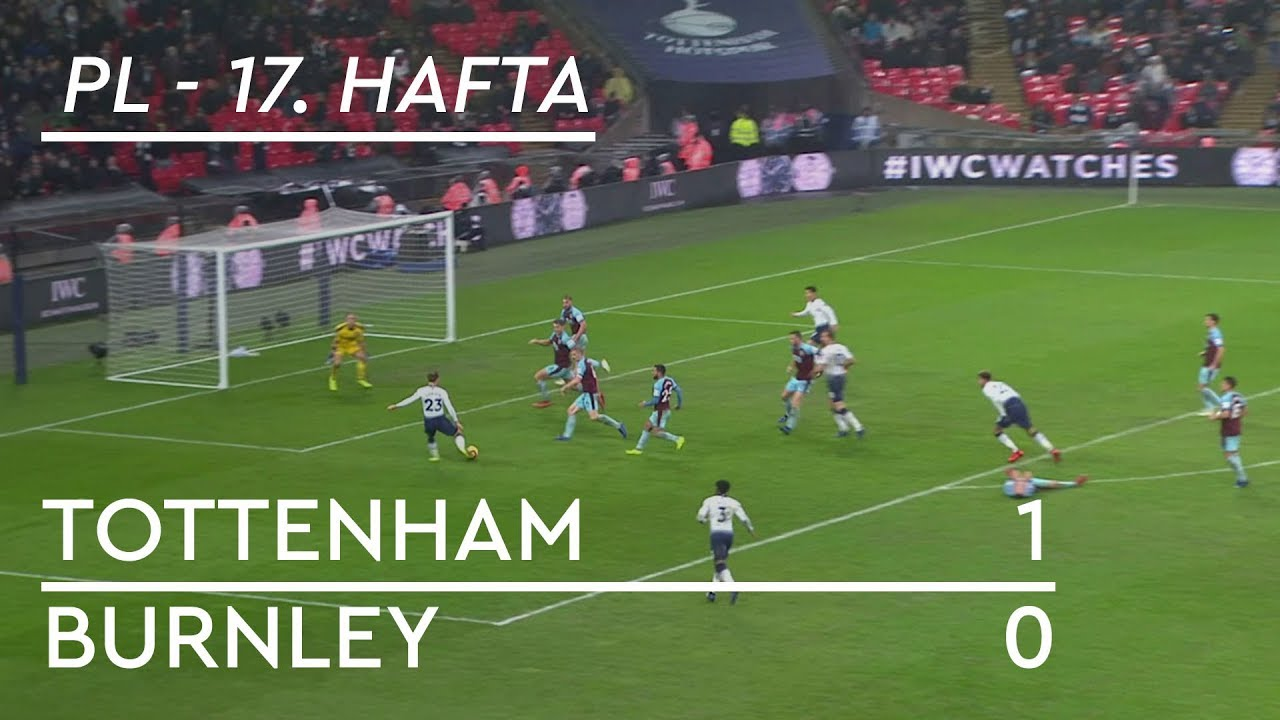 Tottenham - Burnley (1-0) - Maç Özeti - Premier League 2018/19