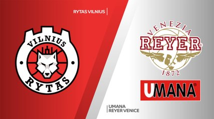 7Days EuroCup Highlights Regular Season, Round 5: Rytas 72-81 Reyer