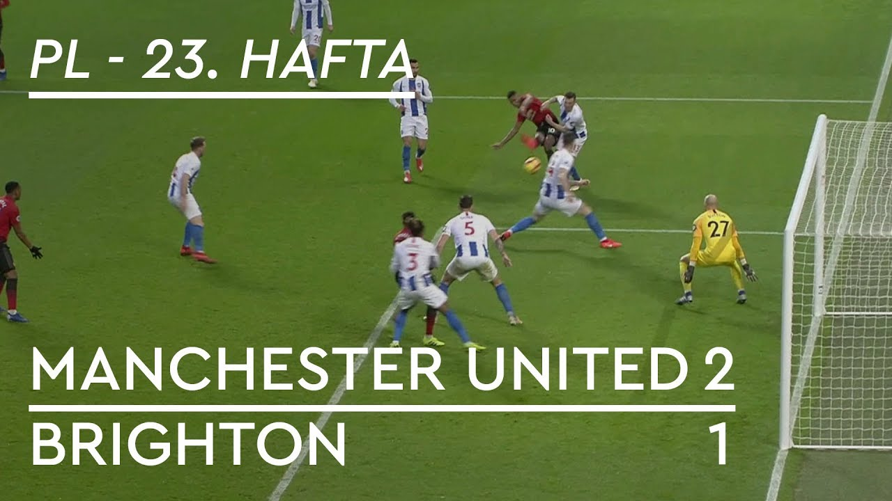 Manchester United - Brighton (2-1) - Maç Özeti - Premier League 2018/19