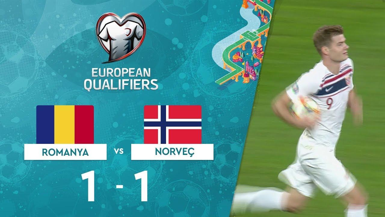 Romanya 1-1 Norveç | EURO 2020 Elemeleri Maç Özeti - F Grubu