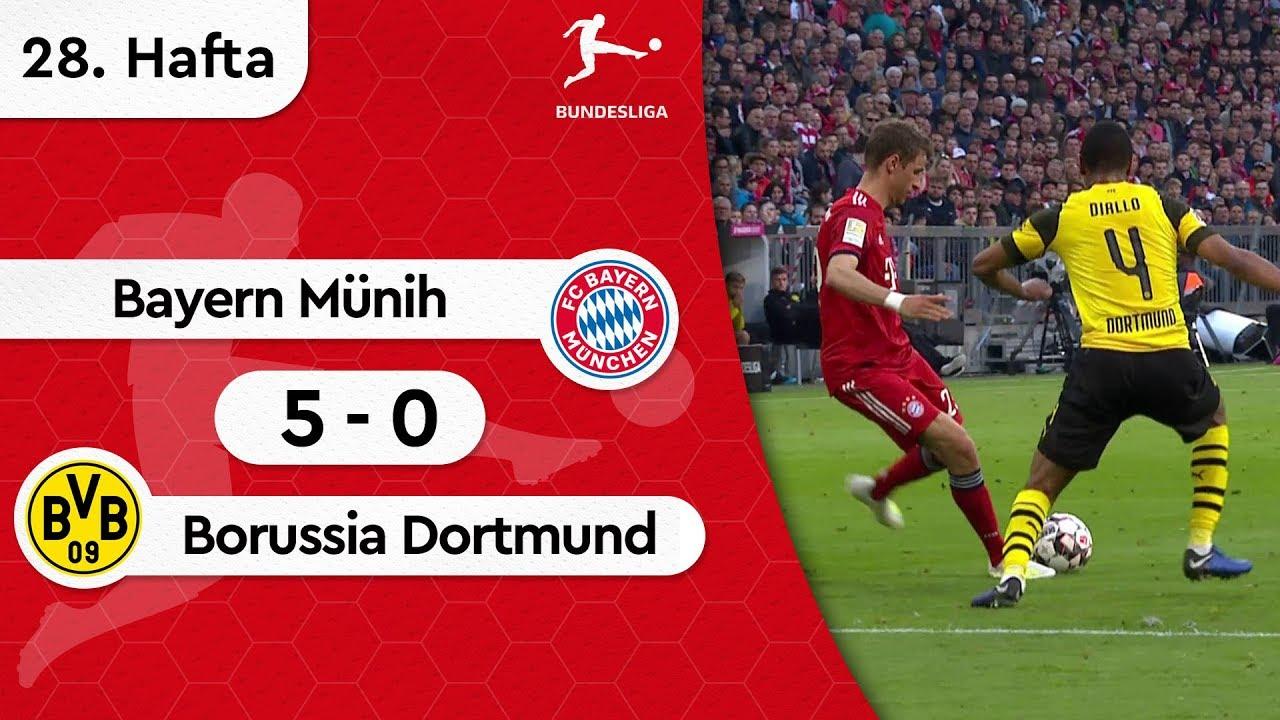 Bayern Münih - Borussia Dortmund (5-0) - Maç Özeti - Bundesliga 2018/19