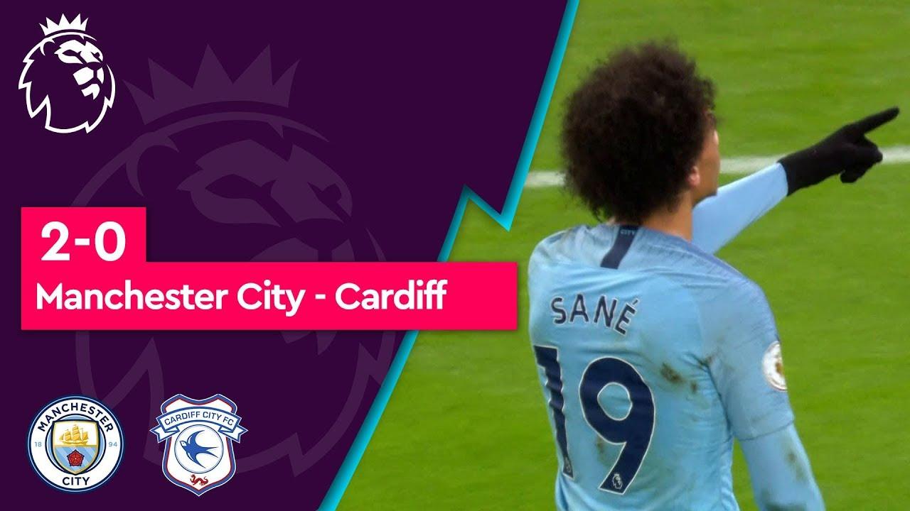 Manchester City - Cardiff (2-0) - Maç Özeti - Premier League 2018/19