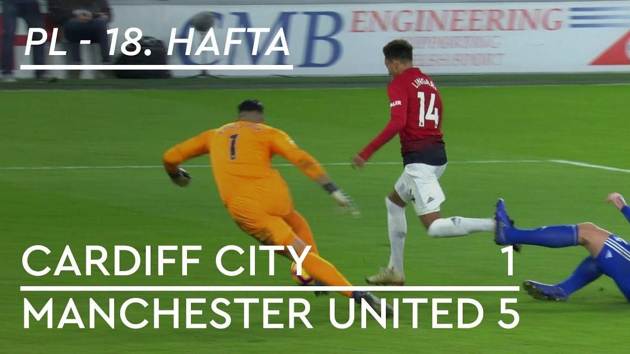Cardiff City - Manchester United (1-5) - Maç Özeti - Premier League 2018/19