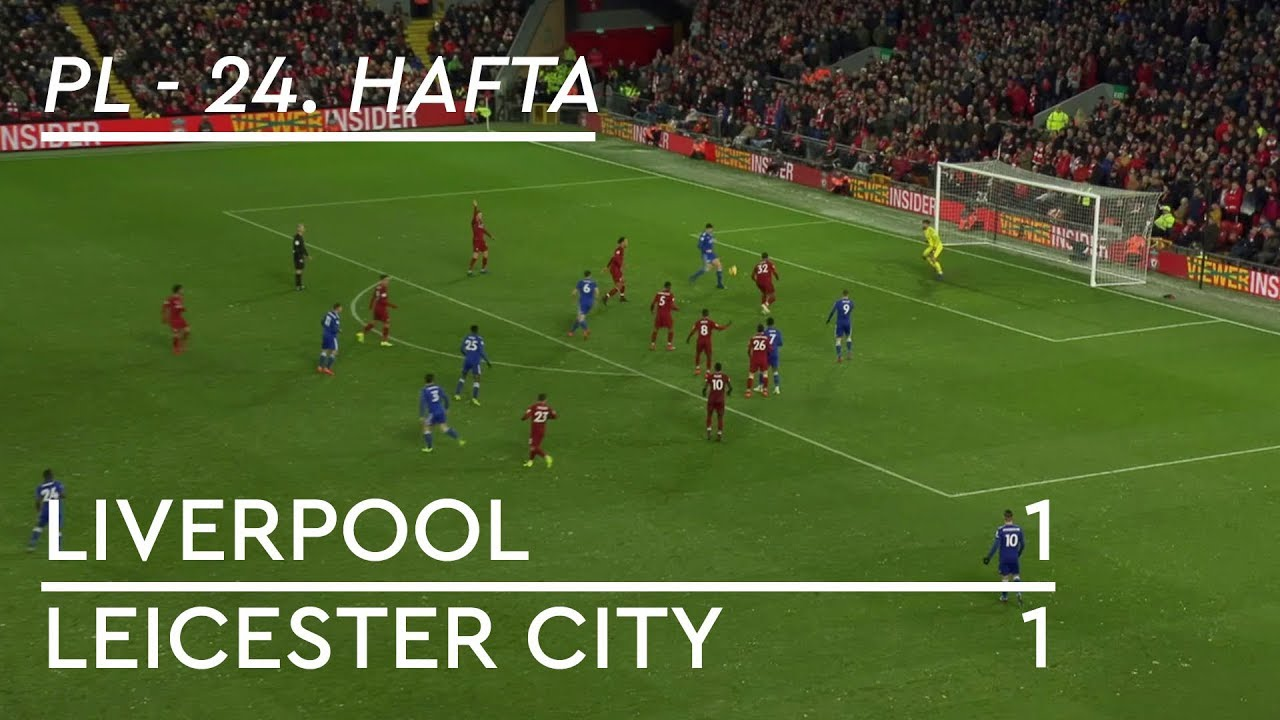 Liverpool - Leicester City (1-1) - Maç Özeti - Premier League 2018/19