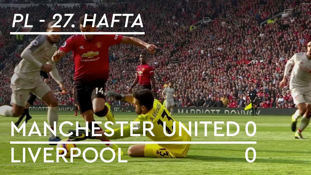 Manchester United - Liverpool (0-0) - Maç Özeti - Premier League 2018/19