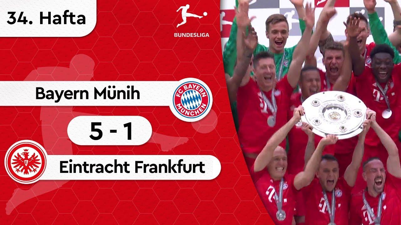 Bayern Münih - Eintracht Frankfurt (5-1) - Maç Özeti - Bundesliga 2018/19