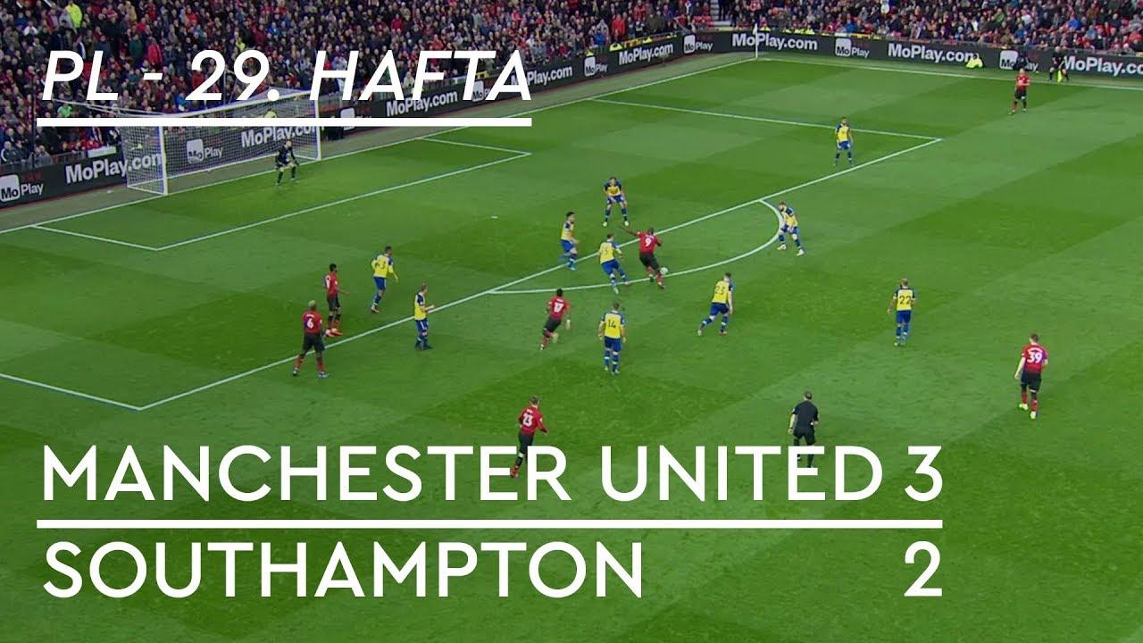 Manchester United - Southampton (3-2) - Maç Özeti - Premier League 2018/19