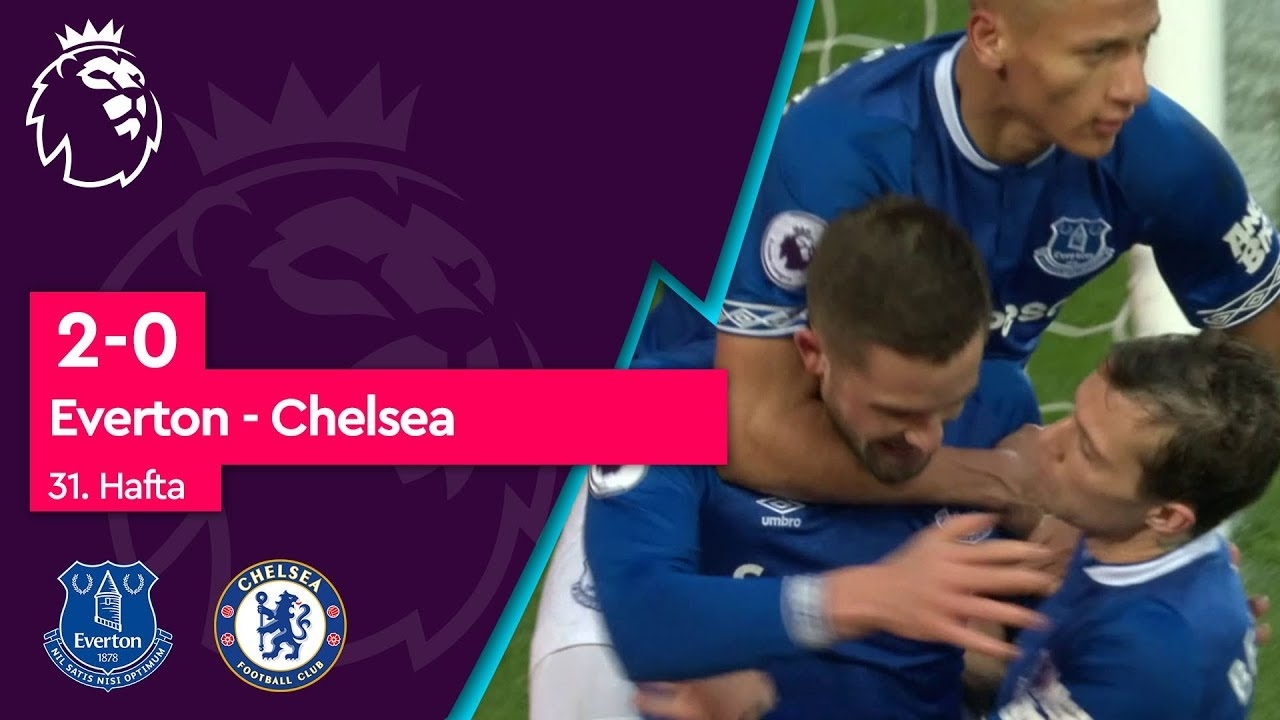 Everton - Chelsea (2-0) - Maç Özeti - Premier League 2018/19