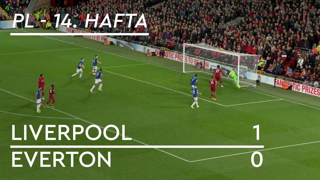 Liverpool - Everton (1-0) - Maç Özeti - Premier League 2018/19