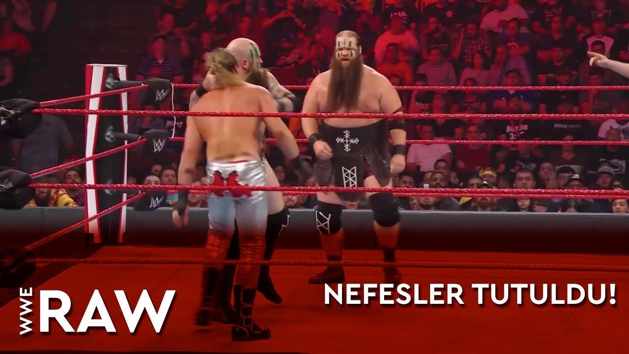 WWE Raw | Nefesler Tutuldu! (Türkçe Anlatım)