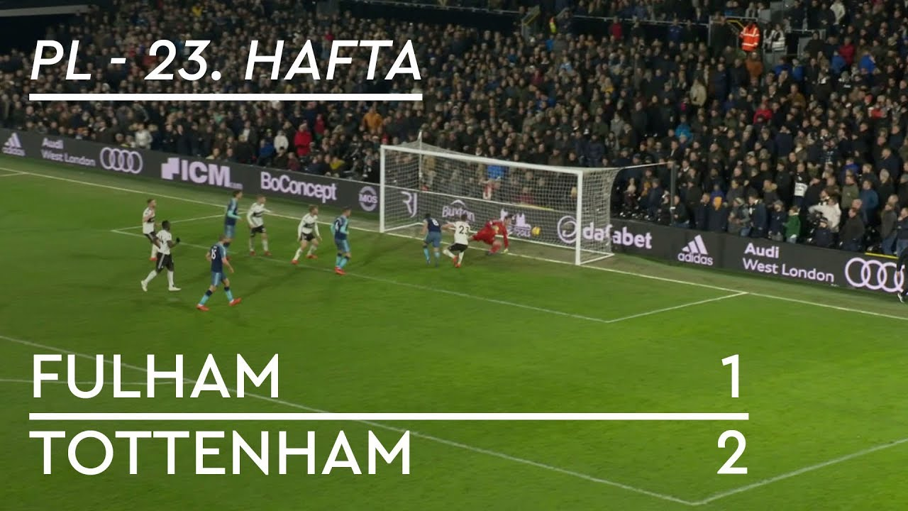 Fulham - Tottenham (1-2) - Maç Özeti - Premier League 2018/19