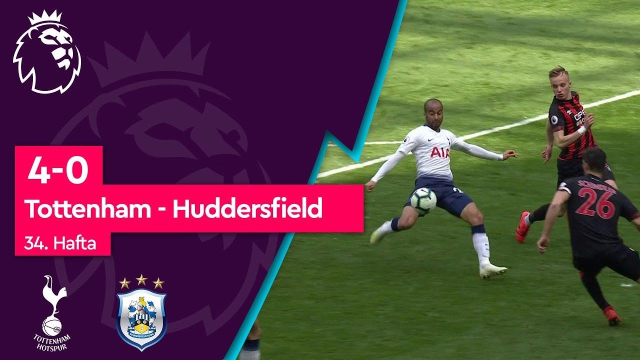 Tottenham - Huddersfield (4-0) - Maç Özeti - Premier League 2018/19