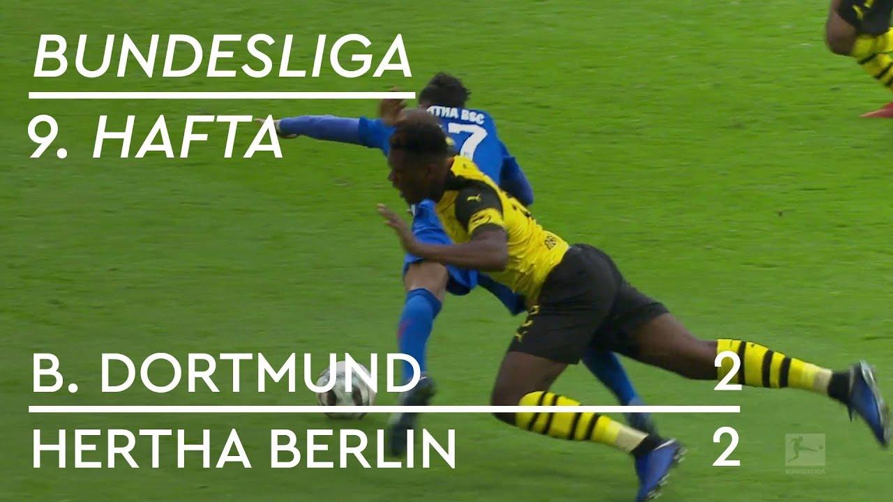 Borussia Dortmund - Hertha Berlin (2-2) - Maç Özeti - Bundesliga 2018/19