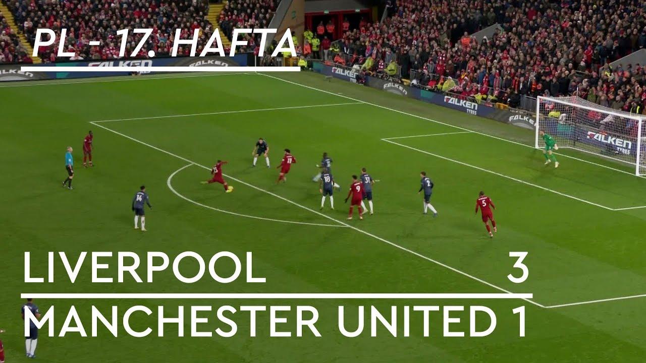 Liverpool - Manchester United (3-1) - Maç Özeti - Premier League 2018/19