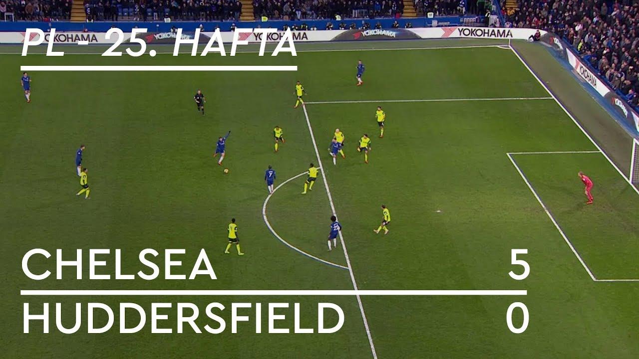 Chelsea - Huddersfield (5-0) - Maç Özeti - Premier League 2018/19