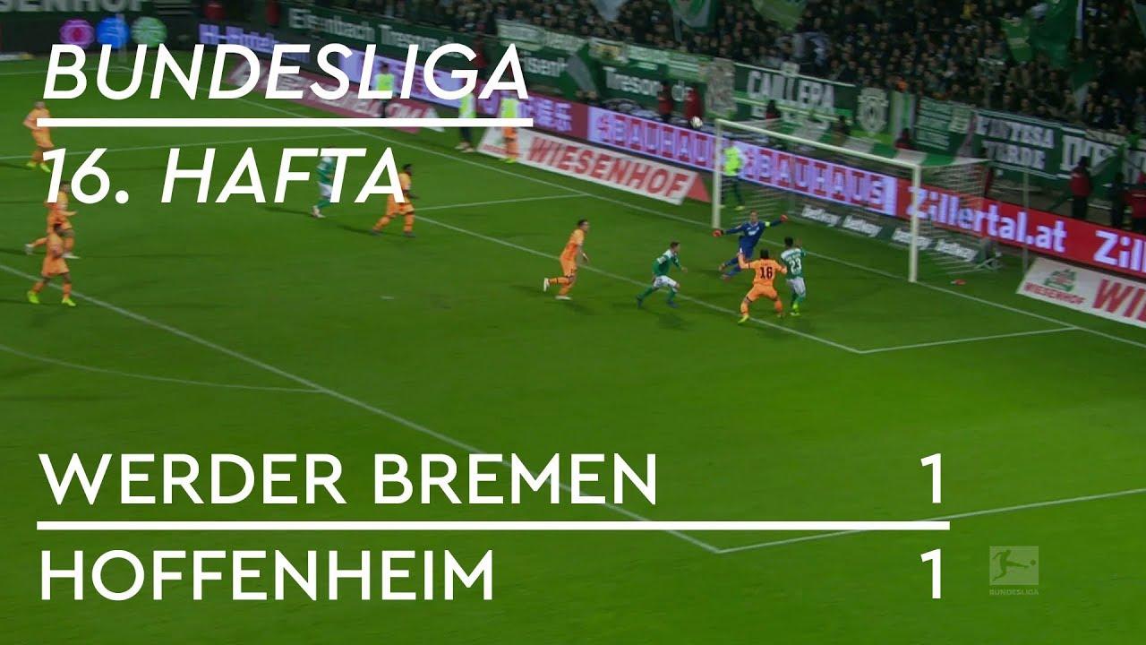 Werder Bremen - Hoffenheim (1-1) - Maç Özeti - Bundesliga 2018/19