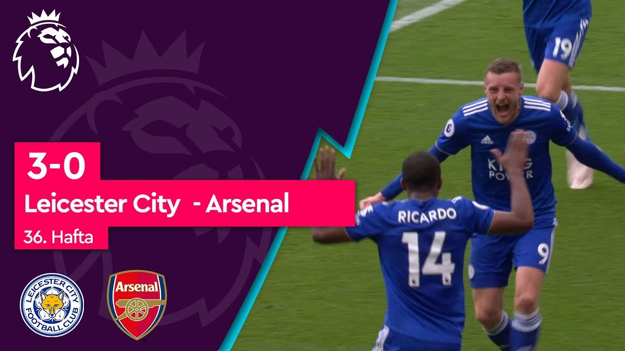 Leicester City - Arsenal (3-0) - Maç Özeti - Premier League 2018/19