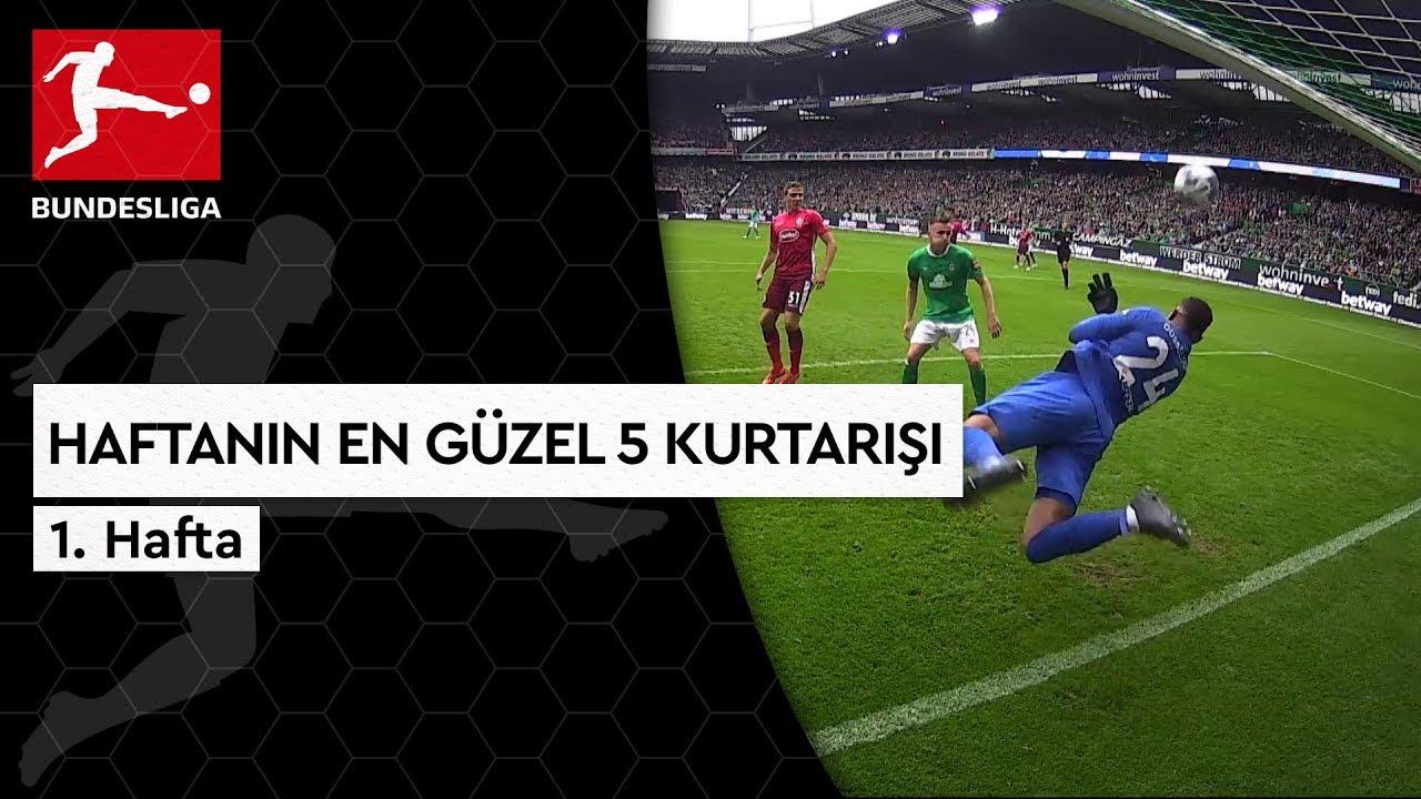 Bundesliga'da 1. Haftanın En Güzel 5 Kurtarışı (2019/20)