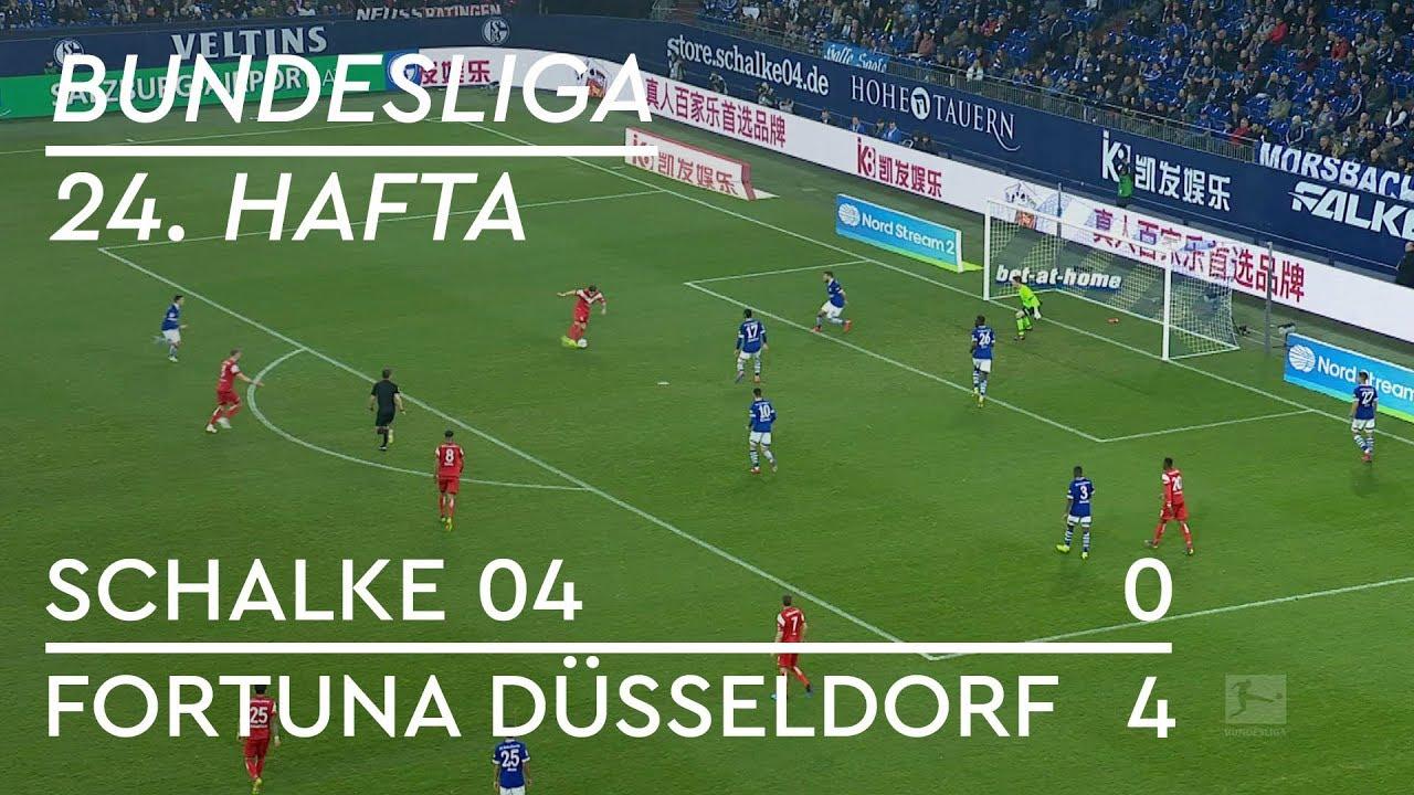 Schalke 04 - Fortuna Düsseldorf (0-4) - Maç Özeti - Bundesliga 2018/19