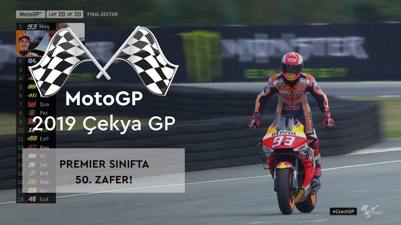 Premier Sınıfta 50. Zafer! (MotoGP 2019 - Çekya Grand Prix)