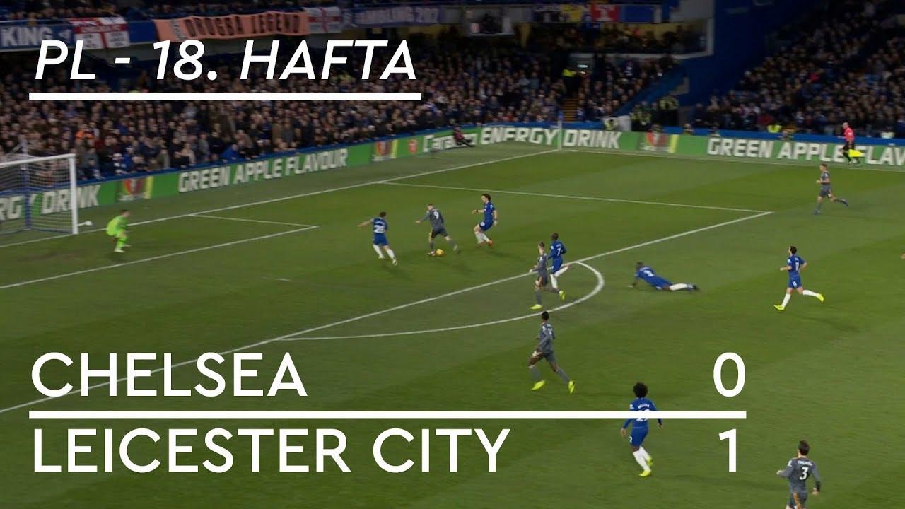Chelsea - Leicester City (0-1) - Maç Özeti - Premier League 2018/19