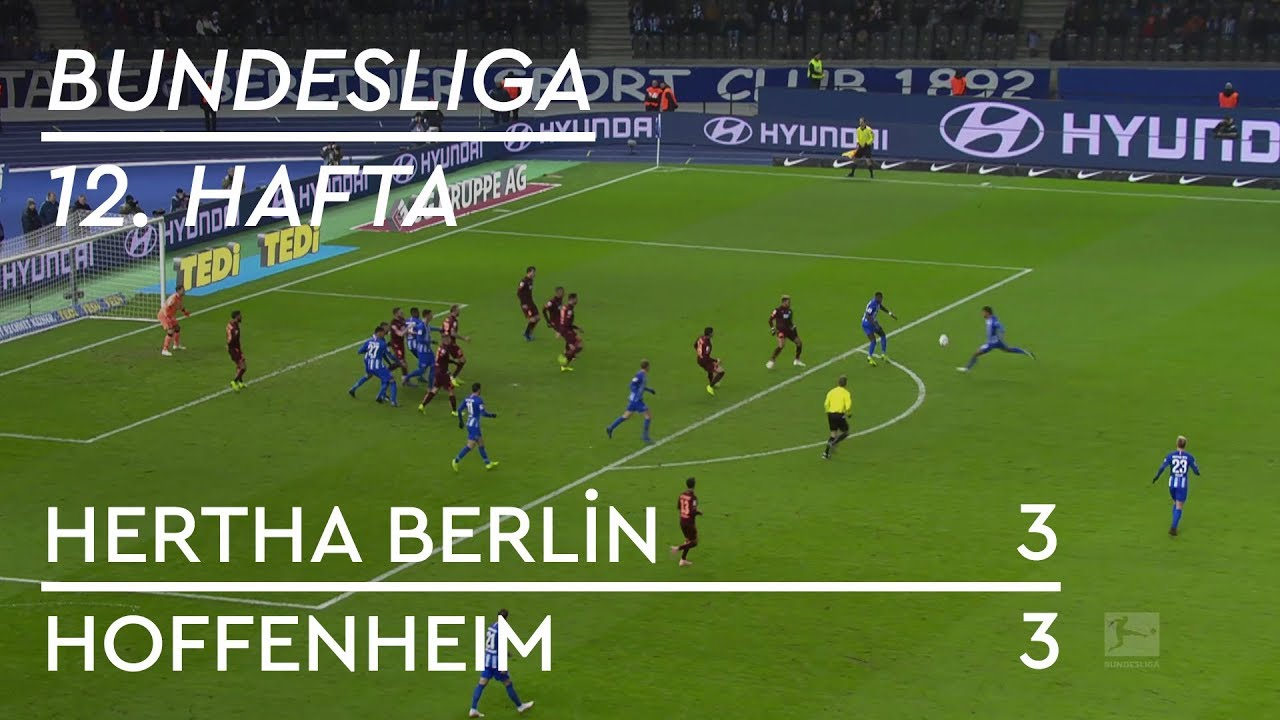 Hertha Berlin - Hoffenheim (3-3) - Maç Özeti - Bundesliga 2018/19