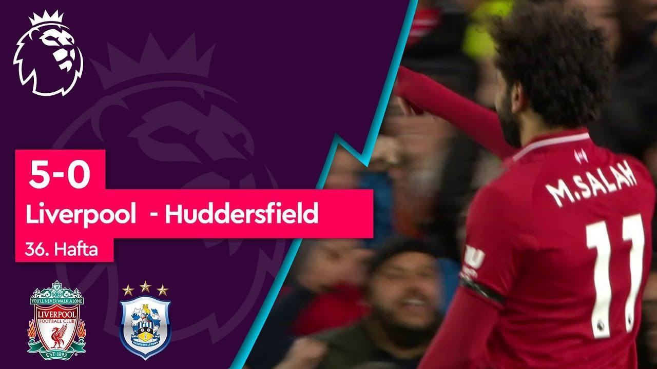 Liverpool - Huddersfield (5-0) - Maç Özeti - Premier League 2018/19