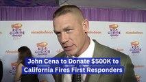John Cena Wants To Help Firefighters