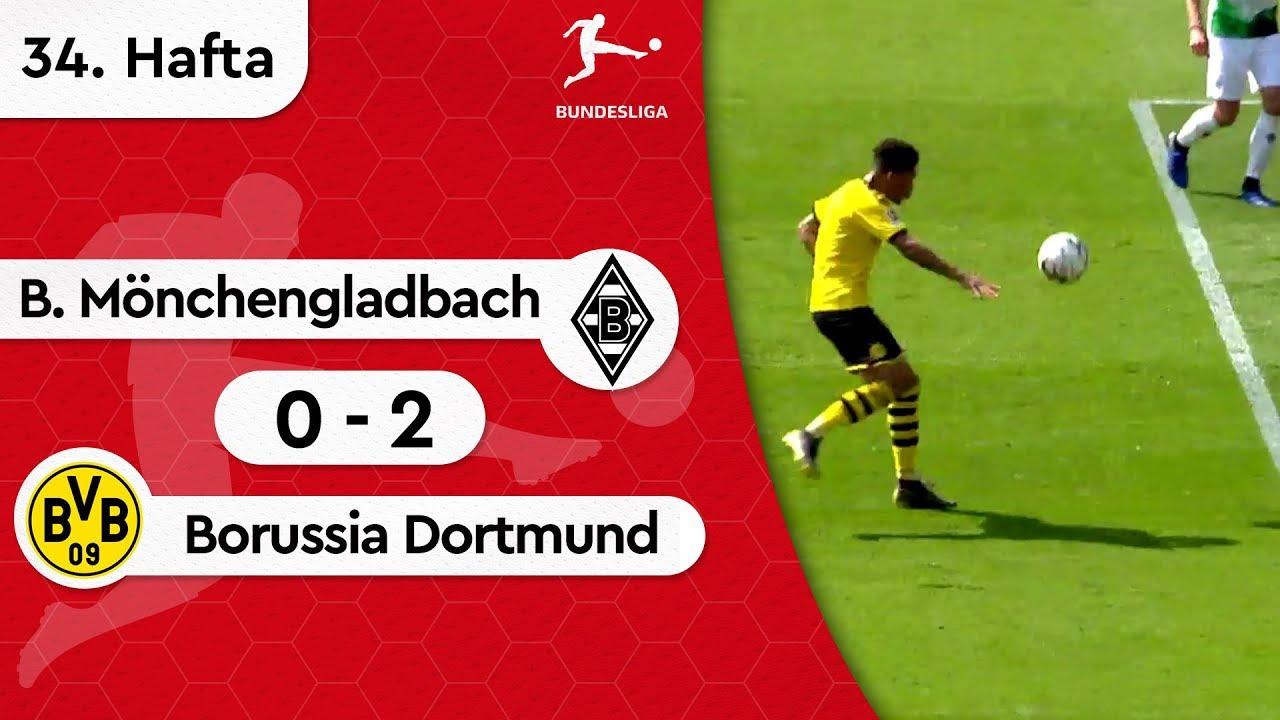 Borussia Mönchengladbach - Borussia Dortmund (0-2) - Maç Özeti - Bundesliga 2018/19