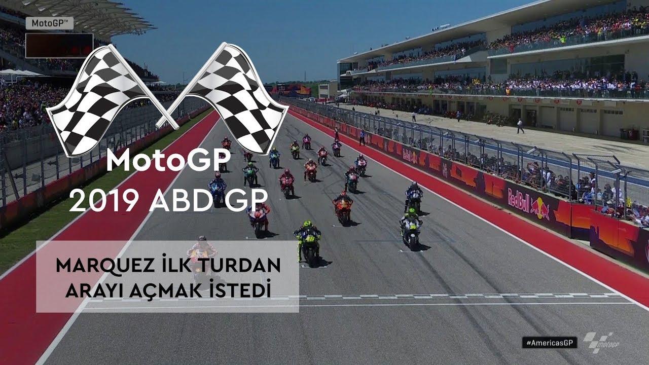Marquez İlk Turdan Arayı Açmak İstedi (MotoGP 2019 - ABD Grand Prix)