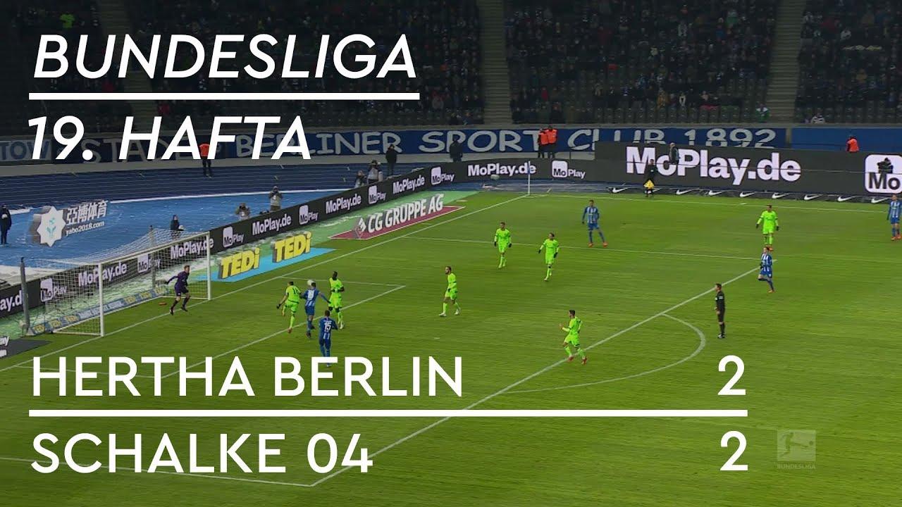 Hertha Berlin - Schalke 04 (2-2) - Maç Özeti - Bundesliga 2018/19