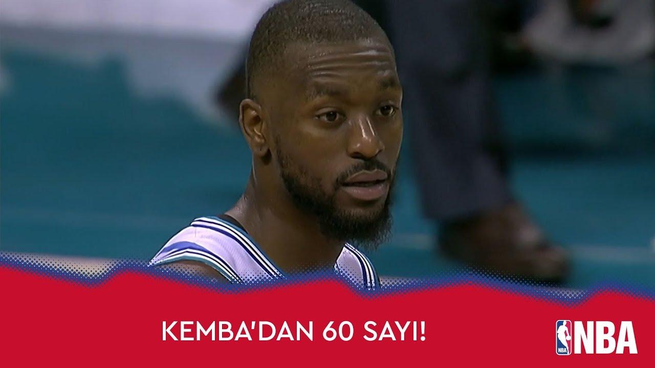 Kemba Walker'dan 60 sayı!
